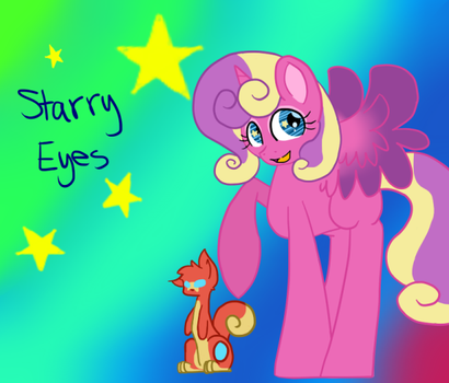 Starry Eyes by Hello-Its-A-Snail