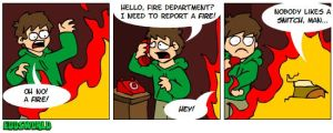 EWcomics No.39 - Fire by eddsworld