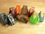 Medieval Leather Pouches - New Colors by izasartshop