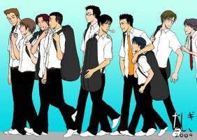 PoT - Seigaku Regulars by tashigi