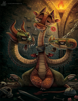 Illustration for Advanced Photoshop Magazine by Cryptid-Creations
