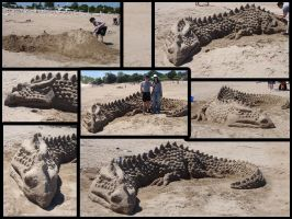 July 2008 Sand Dragon by AndrewSalt