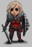 Chibi Lion Knight Female v3 by DeadArmour