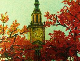 Raley Chapel in Autumn by Sugashane09
