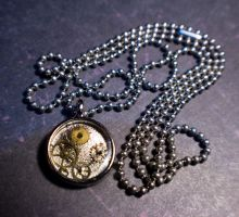 Frozen In Time Necklace by Salixer