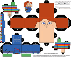 Cubee - Good Guys Doll by CyberDrone