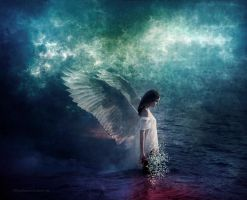 Water angel by PlacidAnemia