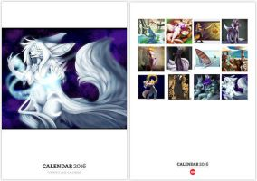2016 Art Calendar by Temrin