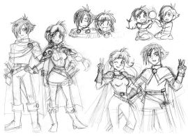Slayers of the Future by queenbean3