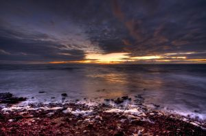 Davey's Bay Sunset No.2 by fazz1977