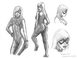Black Cat redesign 2 by MisterFear