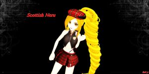 Scottish Neru +DL by AkitaNeruxX