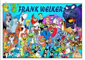Frank Welker tribute by raggyrabbit94