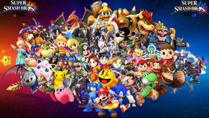 Smash 4 wallpaper by Game34rules