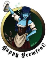 """Happy Brewfest hic"" by Wulfemoon"
