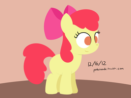 Apple Bloom Yet Again by postcrusade