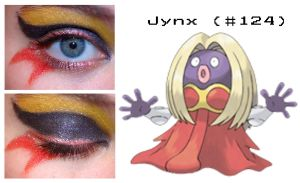 Pokemakeup 124 Jynx by nazzara