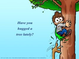 Tree hugging by TheBourgyman