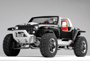 2005 Jeep Hurricane Concept FA by lijinbo78