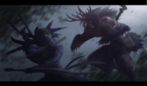 Malfurion's hunt by Irontree