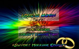 I Support Marriage Equality by Into-Dark