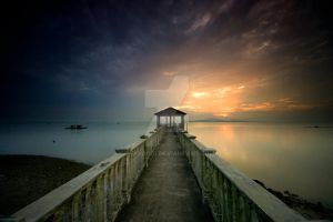 Sunset Tanjung Langsat by pakya001