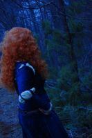 Brave: Into the woods by witchiamwill