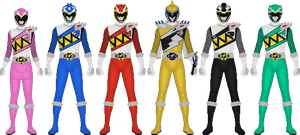 Power Rangers Dino Force Brave by Taiko554