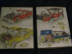 all 4 cars Framed. by ownerfate