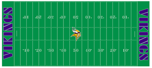Vikings football field 1995-2003 by Chenglor55