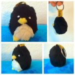Penguin Keychain by nfasel