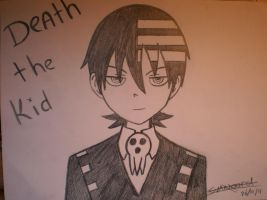 Death The Kid by I-Love-Ghost-Writer