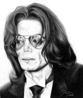 MICHAEL JACKSON Tribute Portrait by ferenczyimre