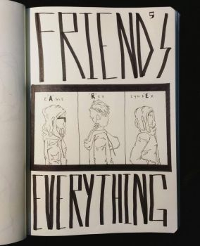 friends are technically everything by AfiqGaming