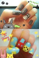Totoro and TB by vvlove
