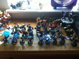 My Skylanders Collection Pt. 2 by dragonfriendhaj