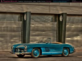 Mercedes Benz SL 300 1957 by powerspiders