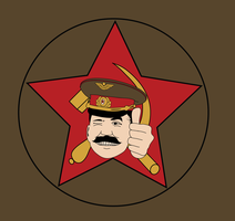 Smilin' Stalin by Genflag
