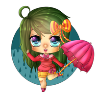 {AT} Maribony by IdoodleChibis