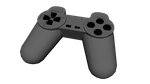 Playstation 1 controller wip by Leie