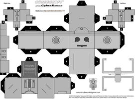 Cubee - Cyberman 'Mk3' by CyberDrone