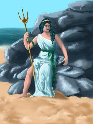 Amphitrite of the Sea