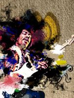 Jimi Hendrix Blues by Momez