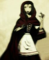 Belle as Red Riding Hood by MaRMaR21490