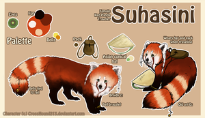 Suhasini Reference Sheet 2012 by CrossHound213