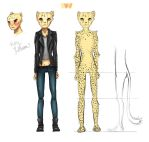Cat People  Cheetah Girl by SleepyHeadKL