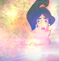 Disney Princesses: Jasmine of Agrabah by Justdrawn