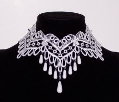 Bridal Choker by Lincey