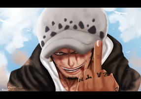 One Piece 780 - Trafalgar D Watel Law by KhalilXPirates