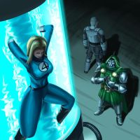 Invisible Woman by svoidist